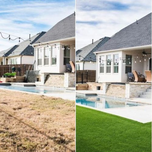 Before and After: Parks of Aledo