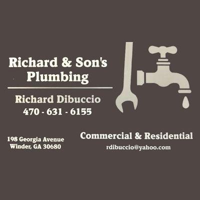 Avatar for Richard & Son's Plumbing