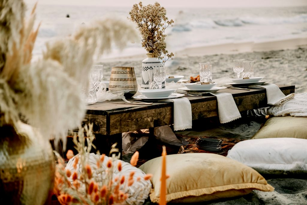 Boho Beach Dinner