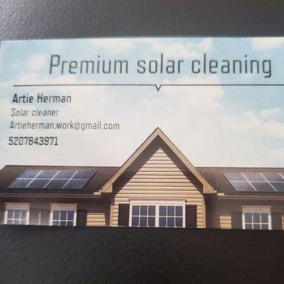 Avatar for Premium solar cleaning