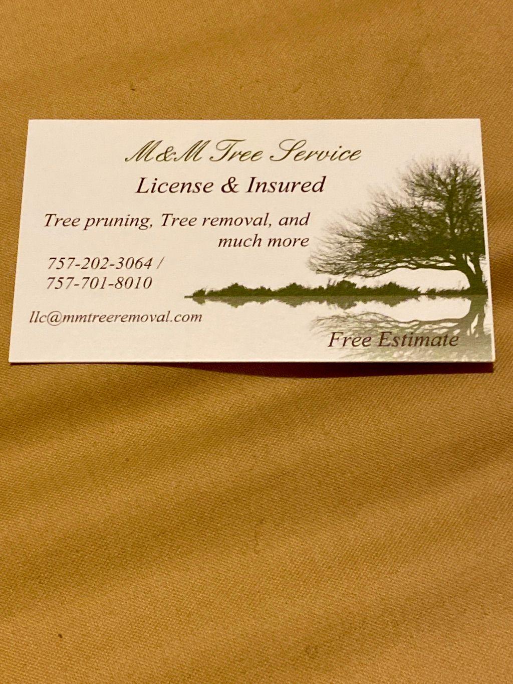 M&M Tree Service/ lawn care
