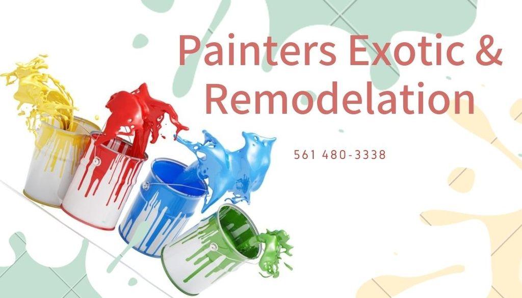 Painters Exotic llc.