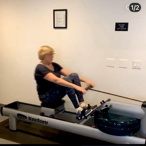Rowing drills