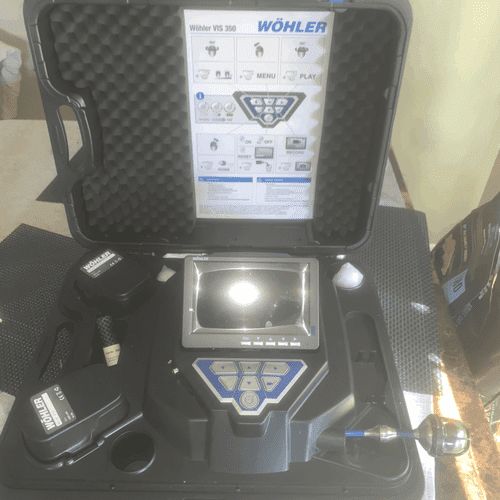 Our Wohler Sewer Scanning equipment