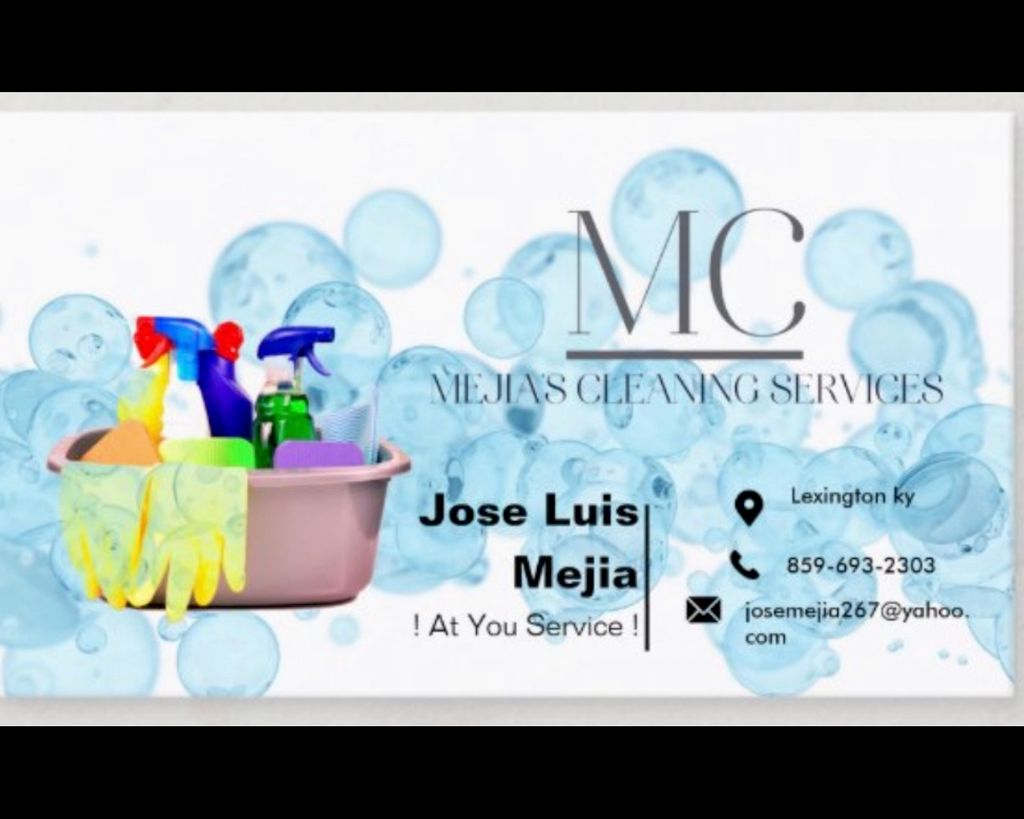Mejia's cleaning services