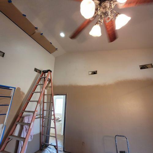 14 foot ceilings