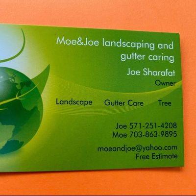 Avatar for Moe&Joe landscaping and gutter caring
