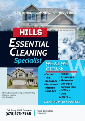 Avatar for HILL'S ESSENTIAL CLEANING