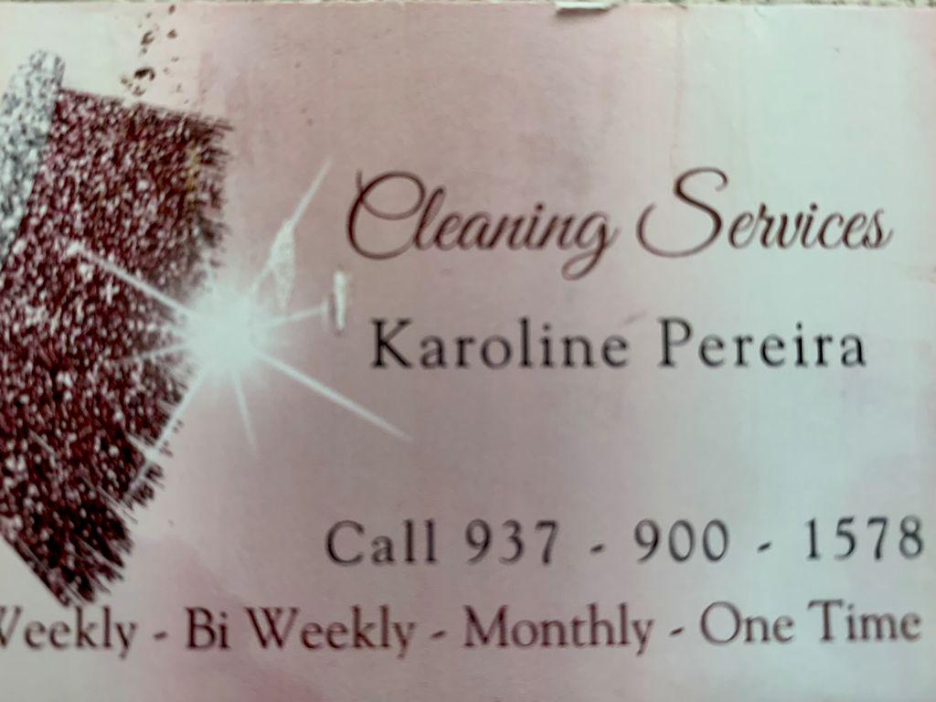 Karoline's cleaning services