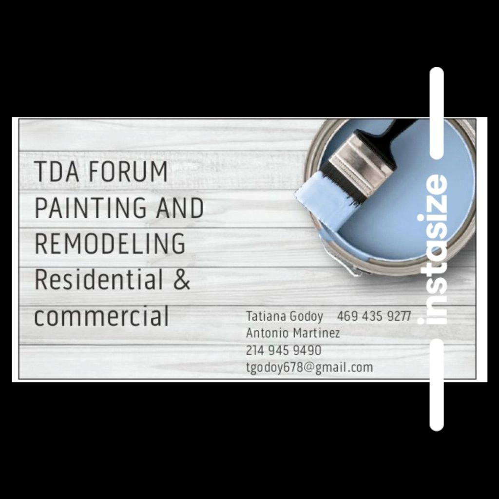 TDA FORUM PAINTING AND REMODELING