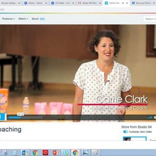 Work Life Harmony Workshop with Carrie Clark