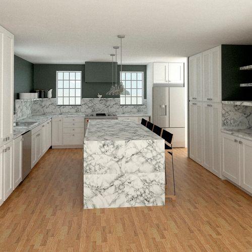 Kitchen Design - IN PROGRESS