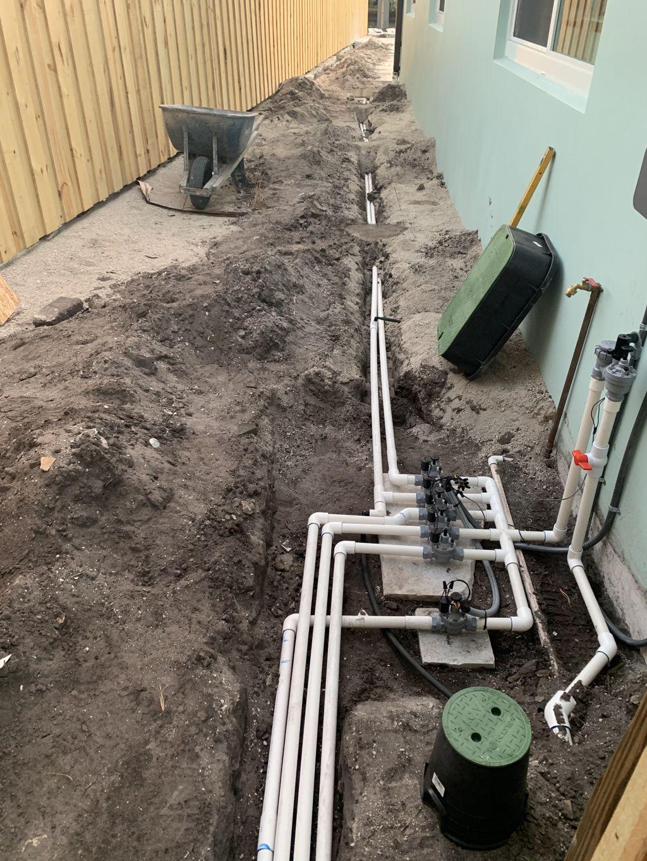 Rachio & valves for 6 new zones