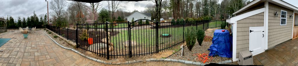 POLES AND HOLES FENCING