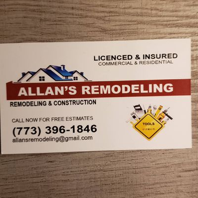 Avatar for Allan's Remodeling
