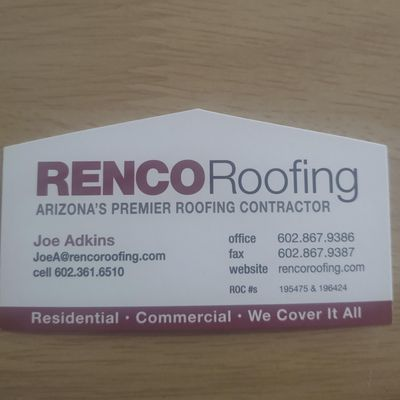 Avatar for RENCO Roofing