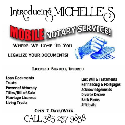 Avatar for Michelle's Mobile Notary & Signing Agent Services