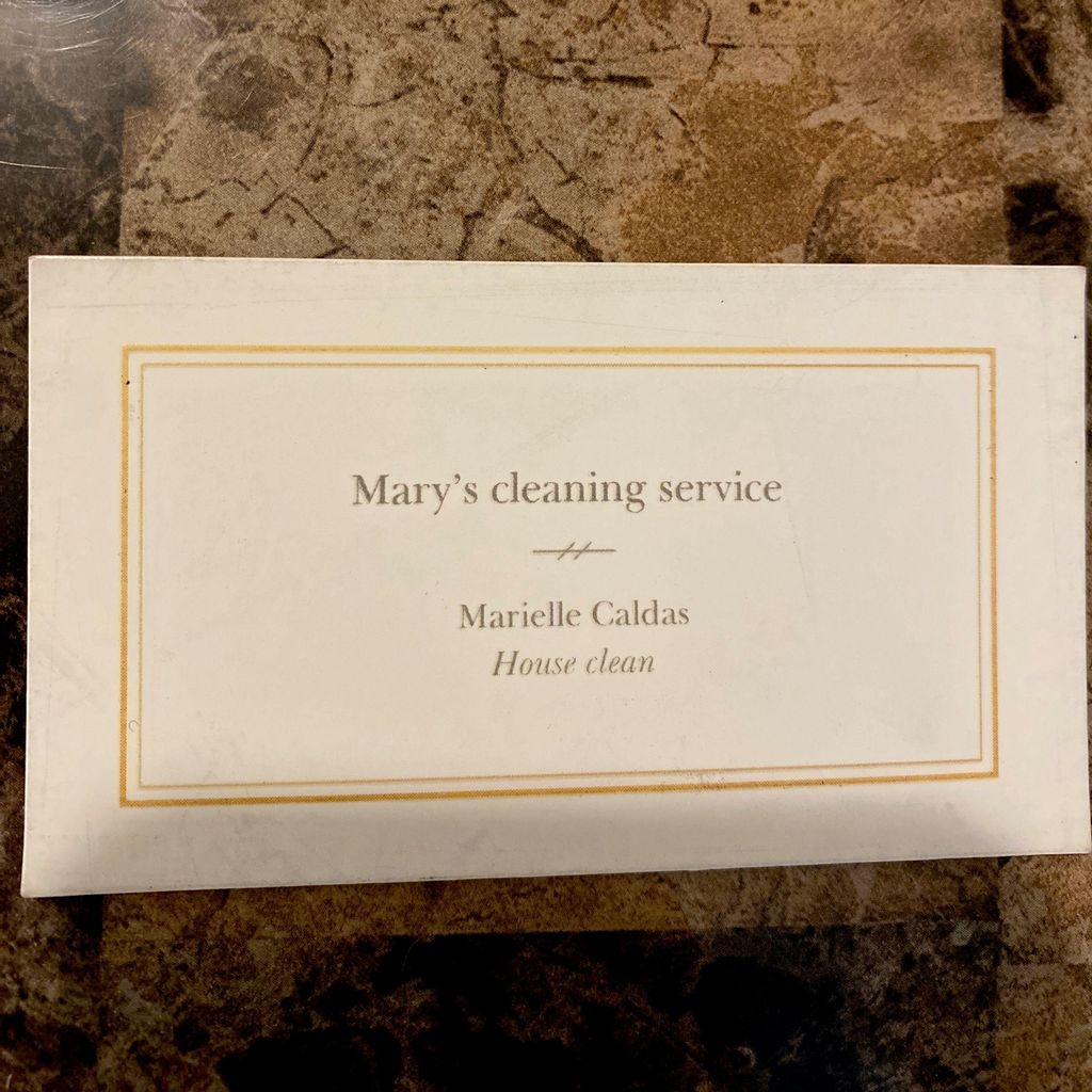 Mary's cleaning service