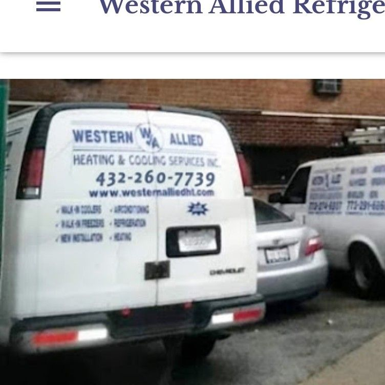 Western Allied Refrige Heating & Cooling Services.