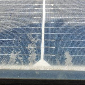 Hard water will destroy your panels