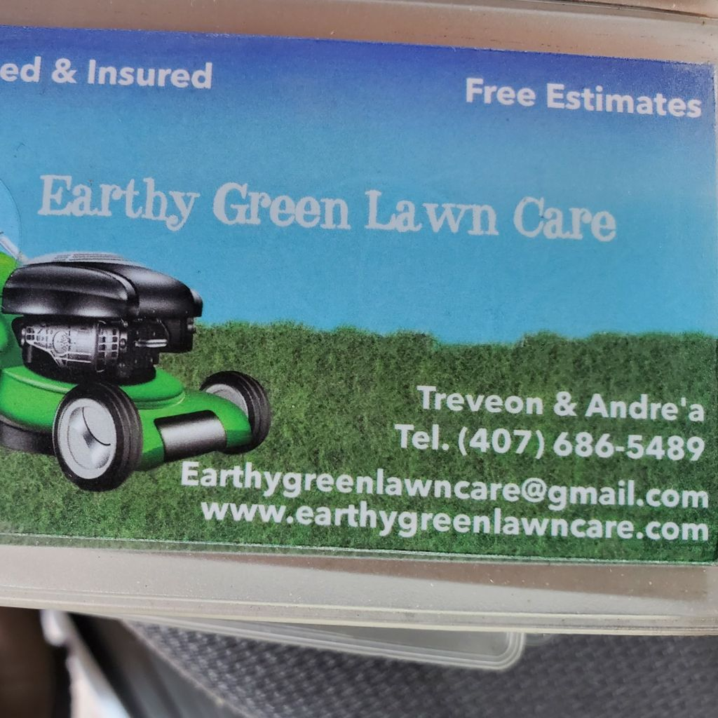 EARTHY GREEN LAWN CARE LLC