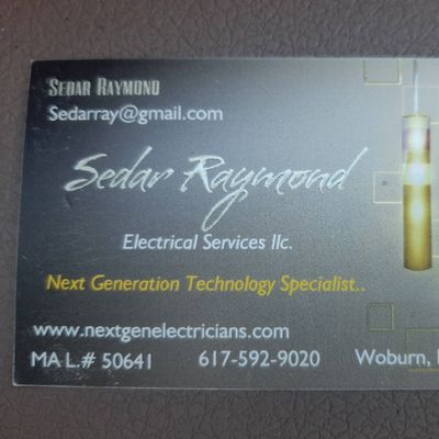 Avatar for Sedar Raymond electrical services llc