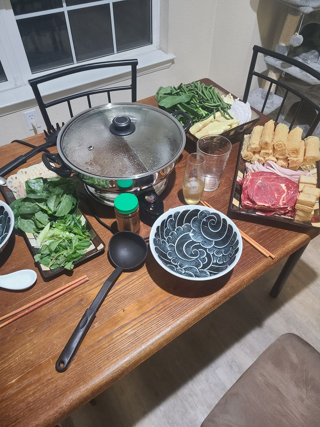 Hotpot dinner and Cocktails
