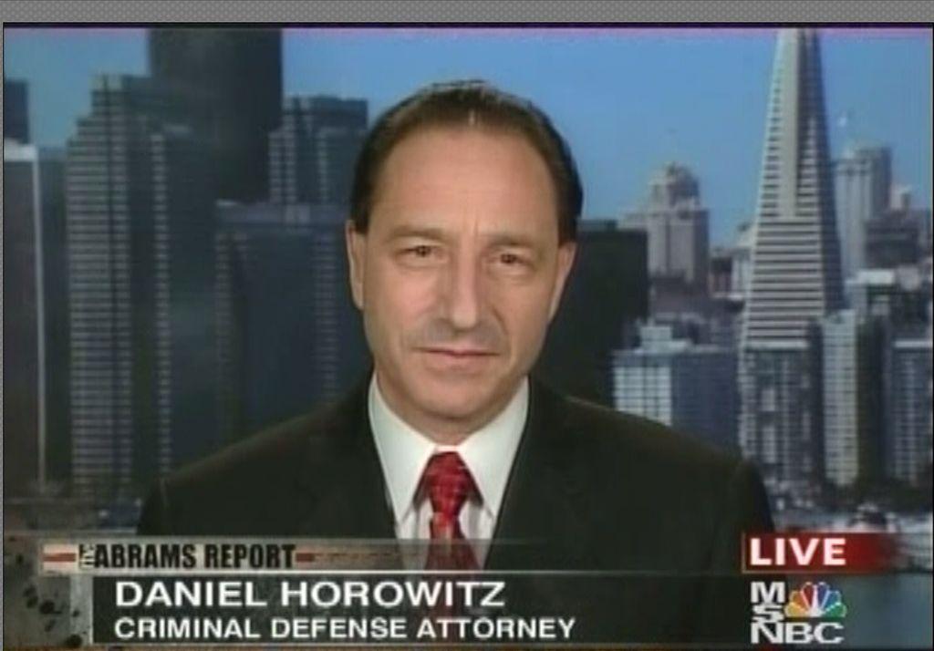 Daniel Horowitz Criminal Defense Specialist
