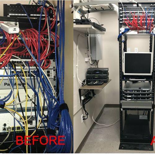 Server Room Makeover