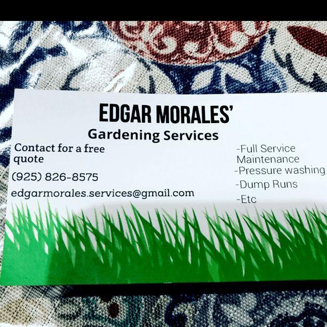 Edgar's maintenance