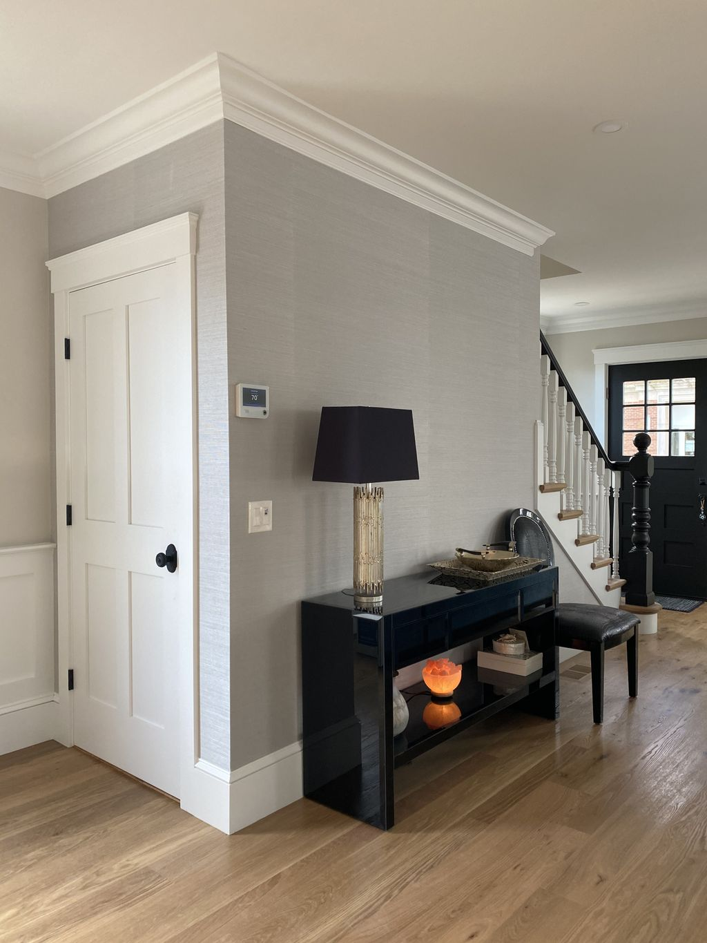 Accent Wall and Staircase