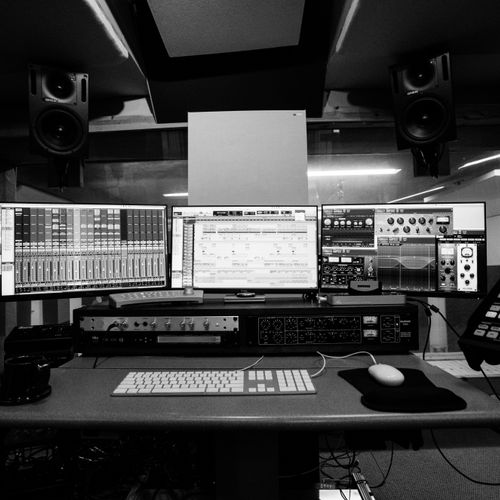Control Room. Equipped with great outboard gear and lots of virtual instruments and plugins