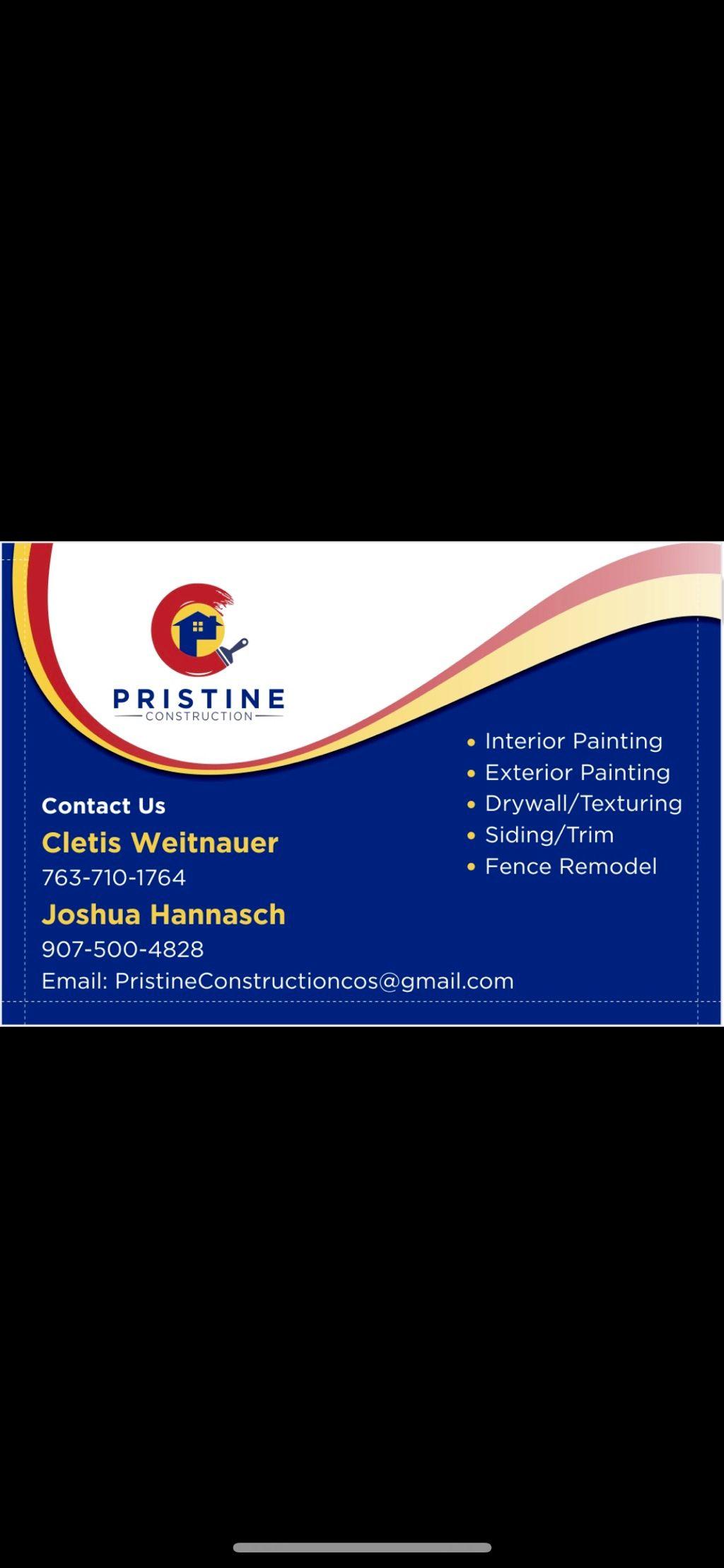 Pristine Construction, Inc.