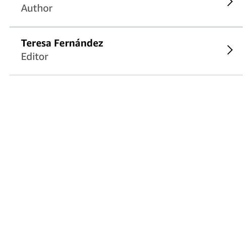 Publishing details on Amazon