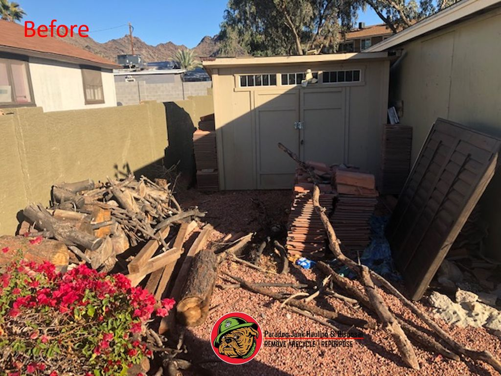 Shed and Debris Removal