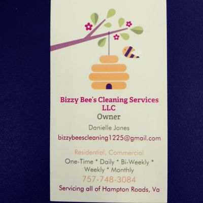 Avatar for Bizzy Bee's Cleaning Services