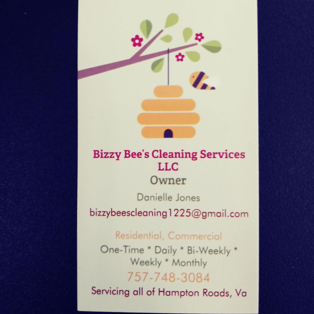 Bizzy Bee's Cleaning Services
