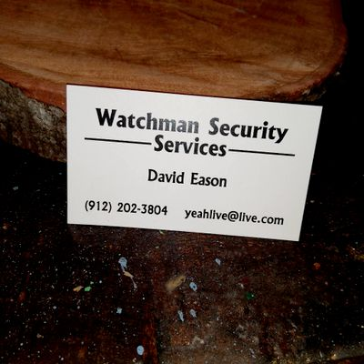 Avatar for Watchmen security & services