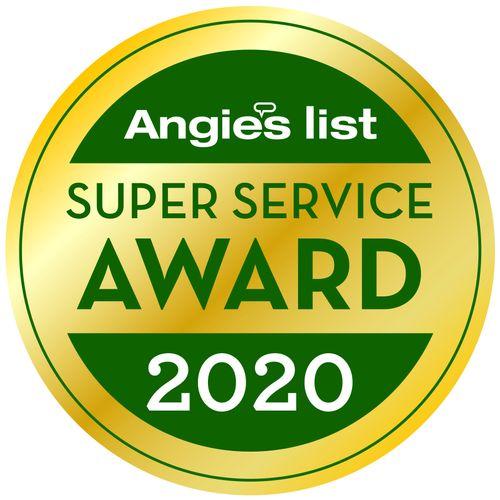 Angie's List's Super Service Award winner since 2011!!!