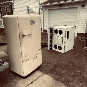 Cool Vintage Appliance we removed!