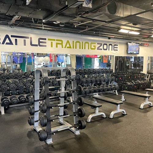 The training facility Private 1 on 1's