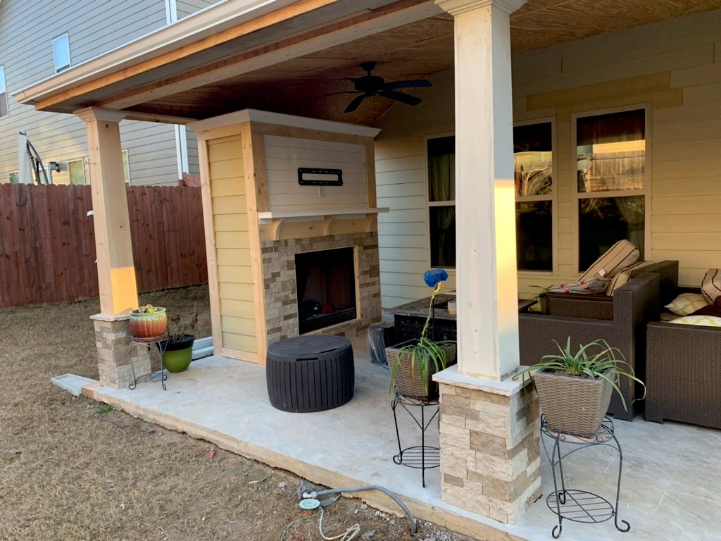 Nava' landscaping and home improvement.