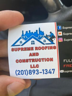 Avatar for Supreme Roofing&Construction LLC