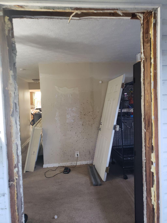 Pre hung entry door