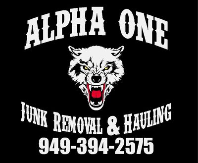 Avatar for ALPHA ONE Junk Removal & Hauling