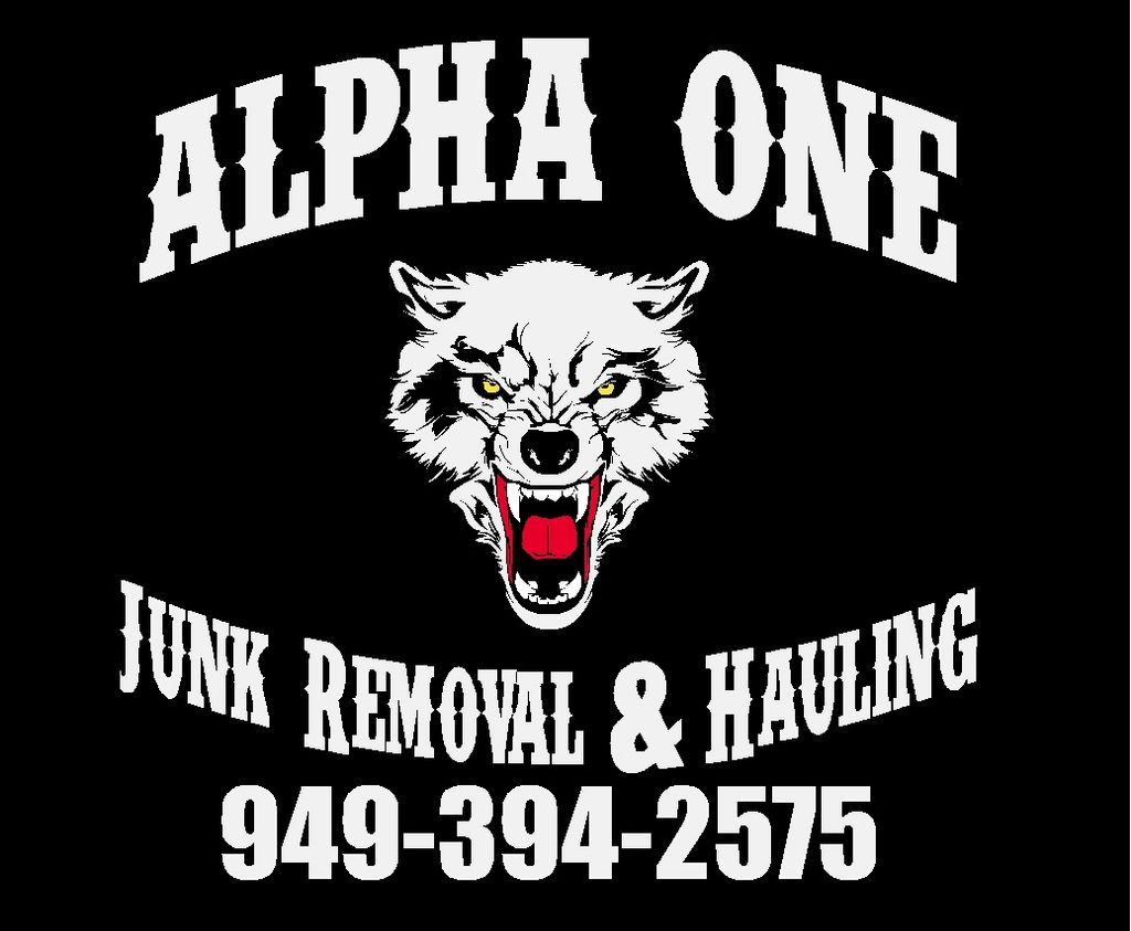 ALPHA ONE Junk Removal & Hauling