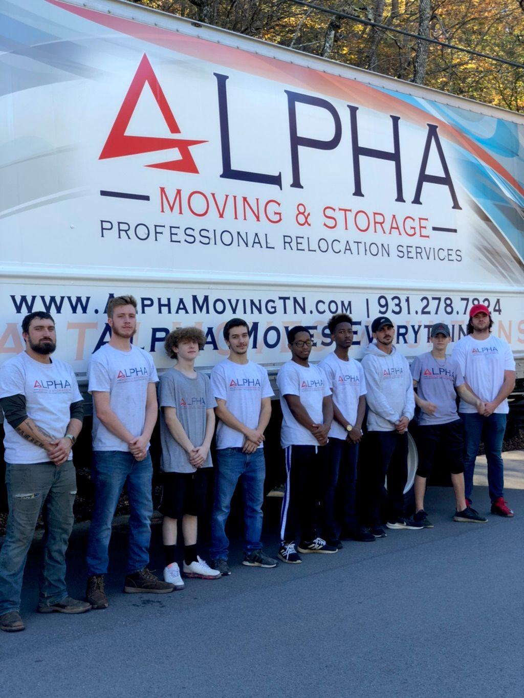 Alpha Moving & Storage LLC