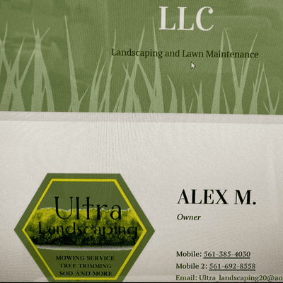 Avatar for Ultra landscaping LLC