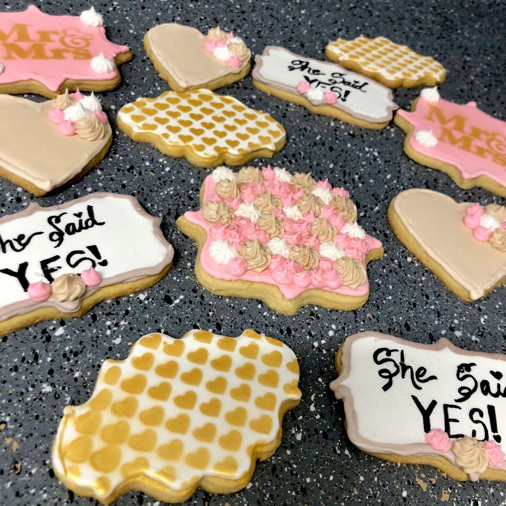 Wedding & Engagement Cookies