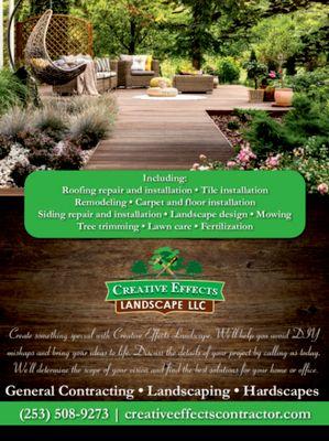 Avatar for Creative effects landscape LLC